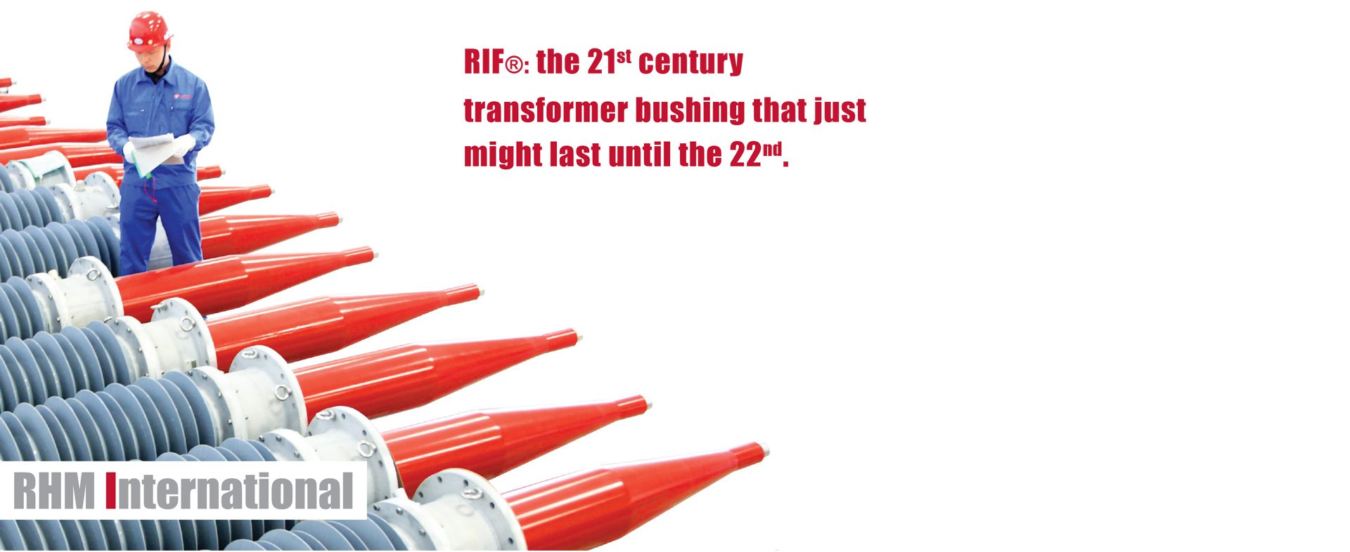 RIF dry technology transformer bushings - reliable and safe by RHM International