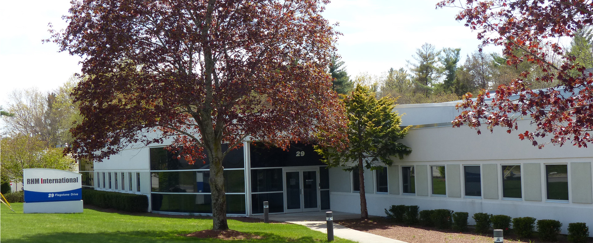 RHM International's North American Production and Test site is in Hudson, NH