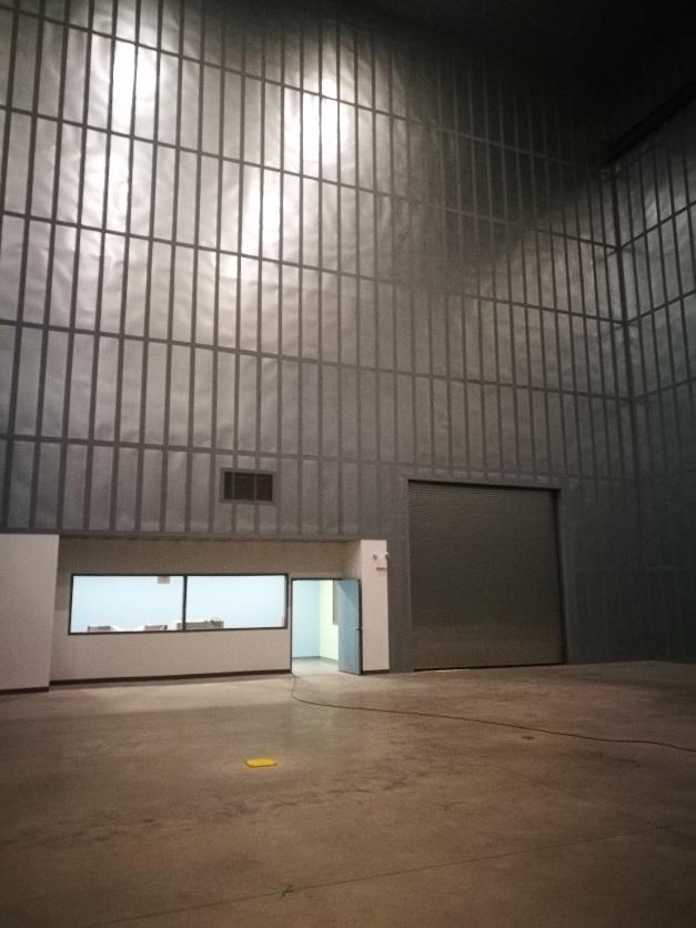 Interior Wall Shielding in NH HV Testing Facility of RHM International