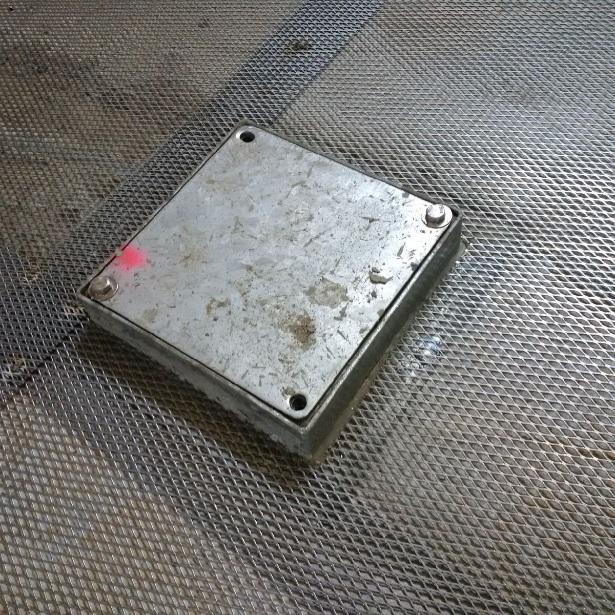 HV Testing Facility Ground Shield