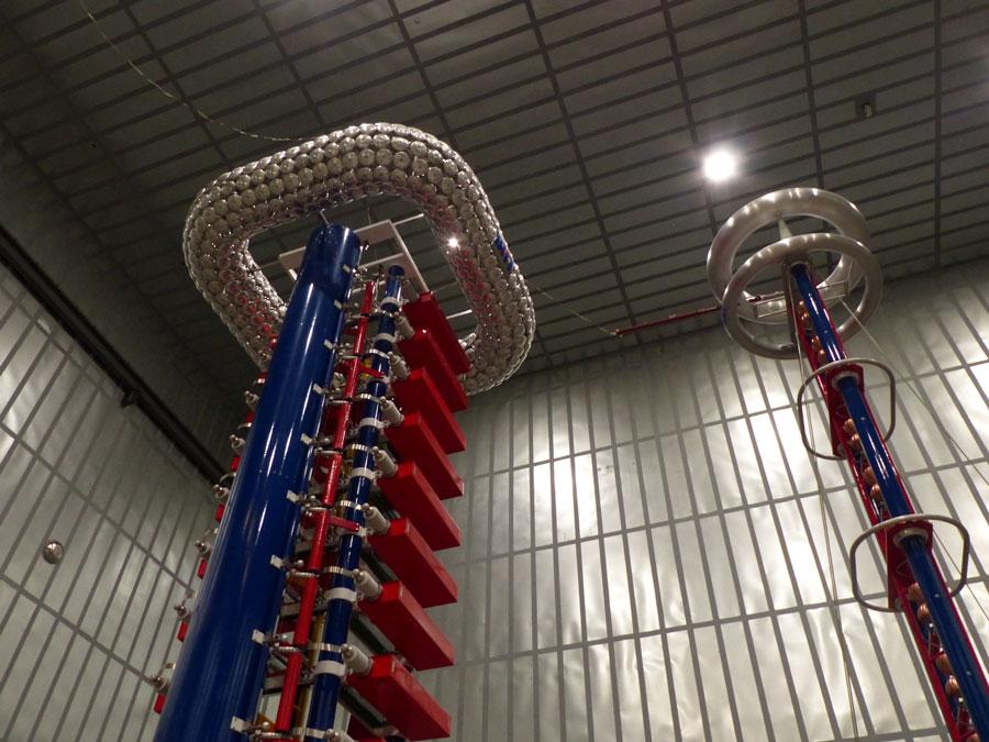 htning/Switching Impulse Test Set in RHM High Voltage Testing Laboratory Hudson NH