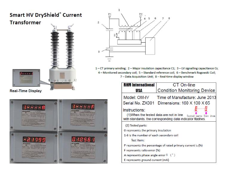 Smart HV DryShield Current Transformer