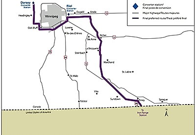 MMTP Transmission Line Route